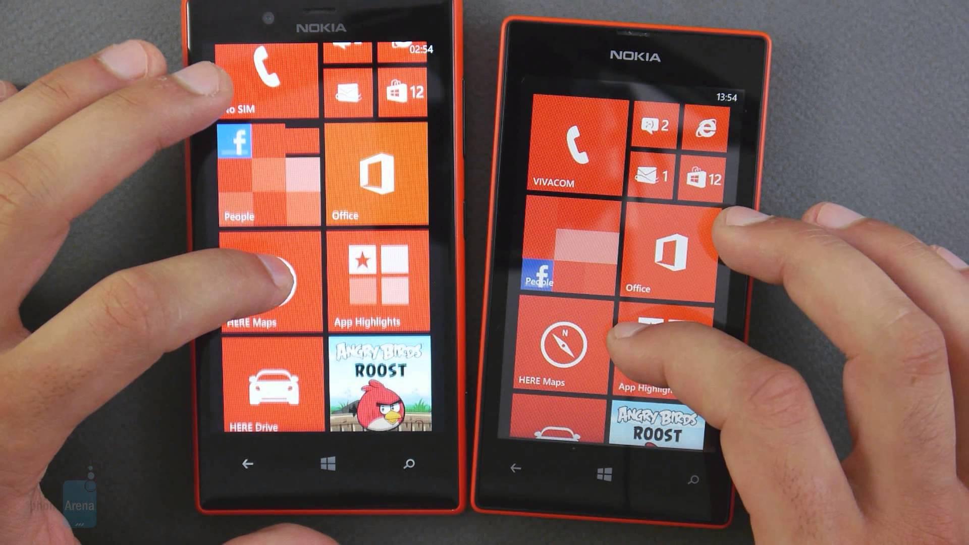 Nokia Lumia 520 et 720