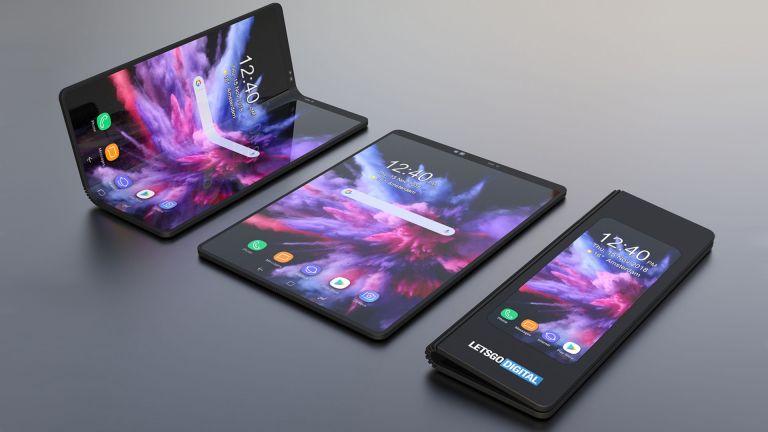 smartphone avec écran pliable