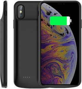 Coque batterie de 6000mAh pour iPhone XS Max