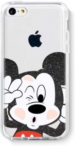 Coque iPhone 5C Disney Mickey Mouse en TPU