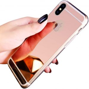 Coque iPhone XR Miroir en silicone TPU