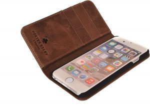 Coque pour iPhone 5 en cuir